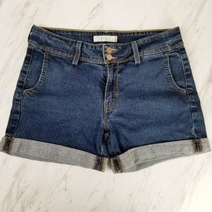 Levi's 545 Two Button Cuffed Jean Shorts Size 10